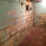 basement wall dampproofing