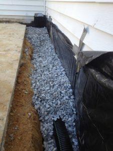 exterior drainage